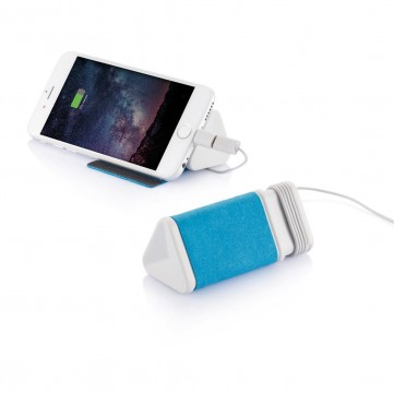 Dobble cable & 3.000mAh powerbank, blueP324.305