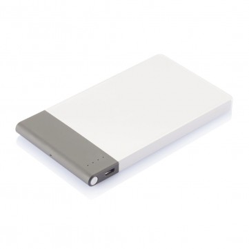 4.600 mAh thin powerbank, whiteP324.753