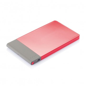 4.600 mAh thin powerbank, redP324.754