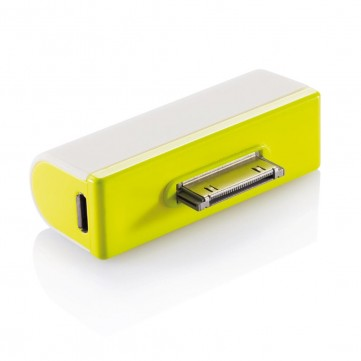 iPhone portable backup battery limeP324.047
