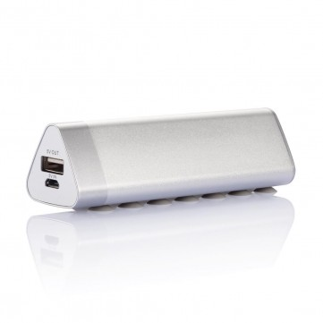 2.200 mAh triangle powerbank, silverP324.980