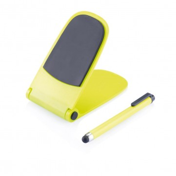 Push stand with touch pen limeP325.007