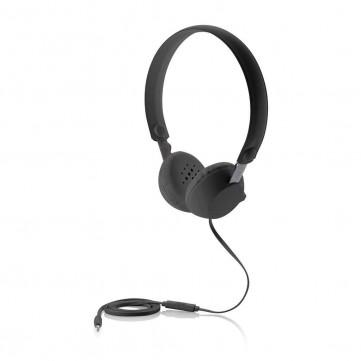 Headphone with mic, blackP326.411