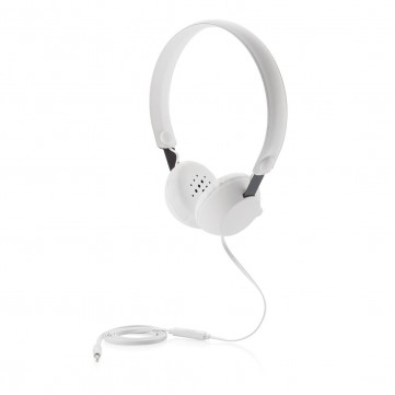 Headphone with mic, whiteP326.413