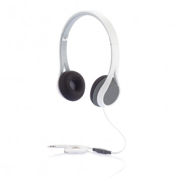 Oova headphone with Mic, grey/whiteP326.503