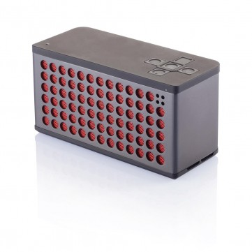 Sound bass speaker large, grey/RedP326.651