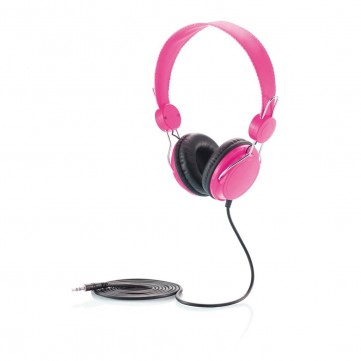 Headphone, pink/blackP326.954