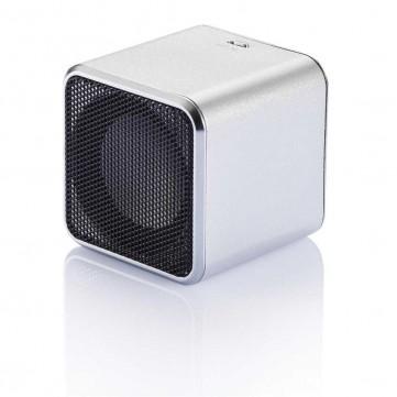 Square speaker, silverP326.052