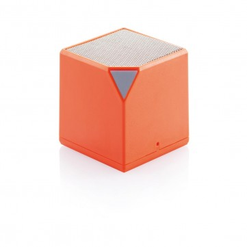 Cube wireless speaker, orangeP326.738