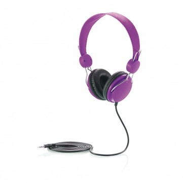 Headphone, purple/blackP326.950