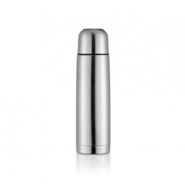 Stainless steel flask, silverP430.112