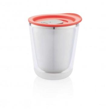 Dia mug, red/greyP432.024