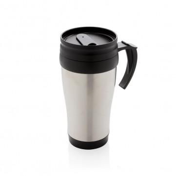 Stainless steel mug, silverP432.102