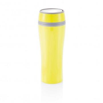 Double wall push mug, limeP432.227