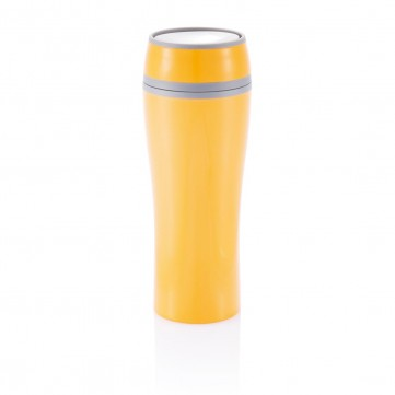Double wall push mug, orangeP432.228