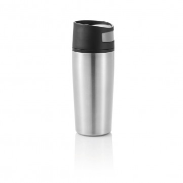 Auto leak proof tumbler, silver/blackP432.452