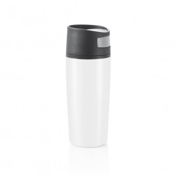 Auto leak proof tumbler, white/blackP432.453