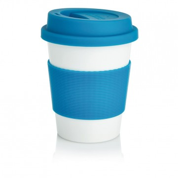 ECO PLA coffee cup, blueP432.885