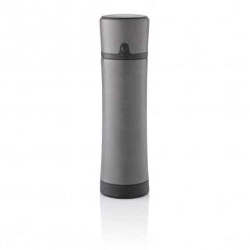 Swiss Peak vacuum flask, greyP433.952