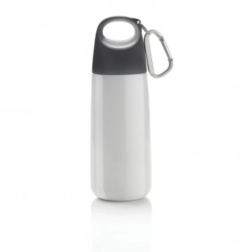 Bopp Mini bottle with carabiner, whiteP436.503