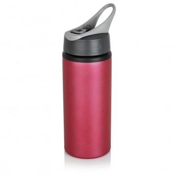 Aluminium sport bottle, pinkP436.569