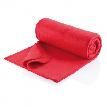 Fleece blanket redP459.604