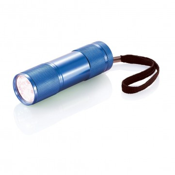 Quattro aluminium torch, blueP513.275