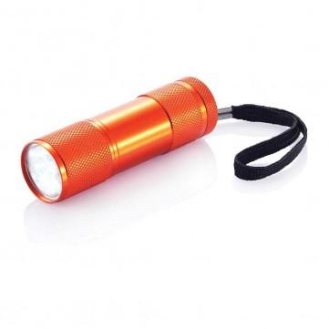 Quattro aluminium torch, orangeP513.278