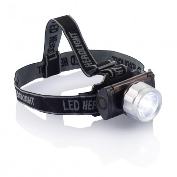 Swiss Peak head torch, blackP513.951