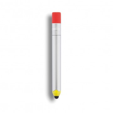 Pencil shaped touch pen, silverP610.772