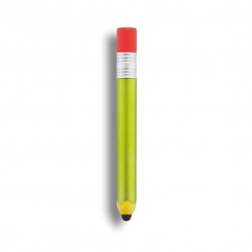 Pencil shaped touch pen, greenP610.777
