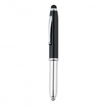 3 in 1 pen with led, blackP610.951