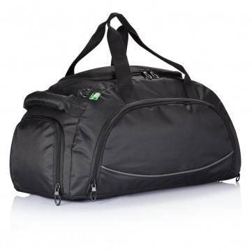 Florida sports bag PVC free, blackP703.731