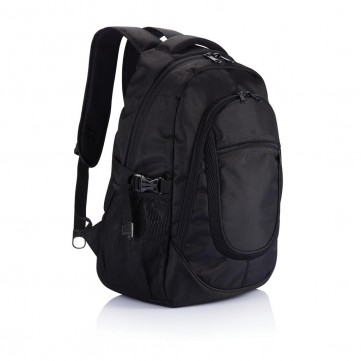Plug & play laptop backpack, blackP705.101
