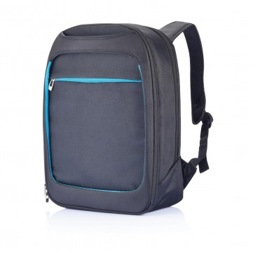 Milano laptop backpack, blueP705.075