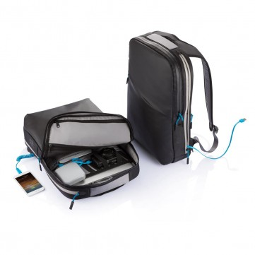 Hybrid 6.000mAh power backpack, blackP705.511
