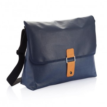 Pure messenger bag, blueP729.055
