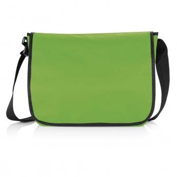 Shoulder document bag, greenP729.277