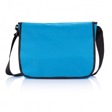 Shoulder document bag, blueP729.279
