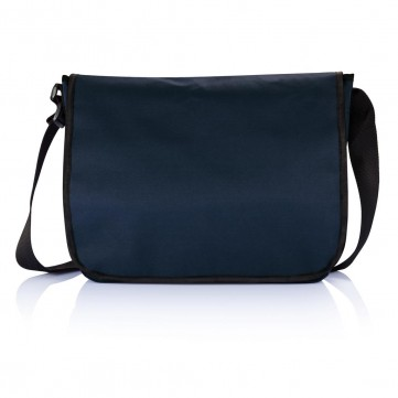 Shoulder document bag, blueP729.275
