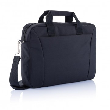 "15.4"" exhibition laptop bag PVC free, blackP732.151"
