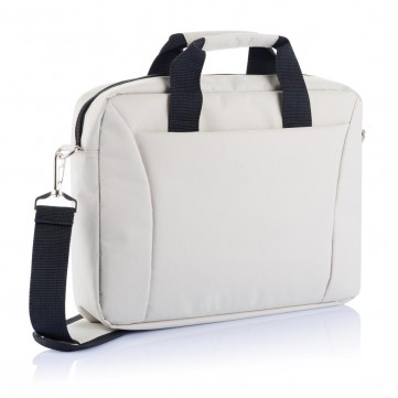 "15.4"" exhibition laptop bag PVC free, greyP732.159"