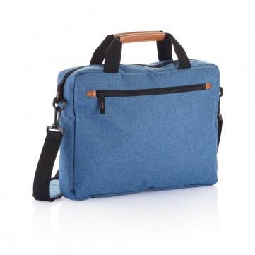 Fashion duo tone laptop bag, blueP732.200