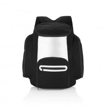 Cooler backpack, black/silverP733.181
