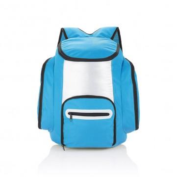 Cooler backpack, blue/silverP733.185