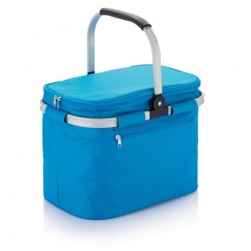 Foldable picnic basket blueP733.325