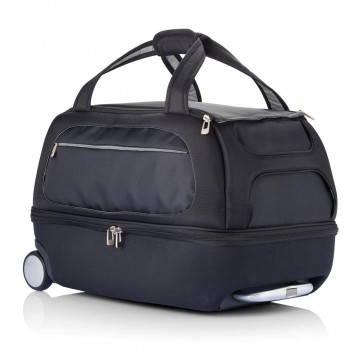 Milano weekend bag on wheels silverP750.072