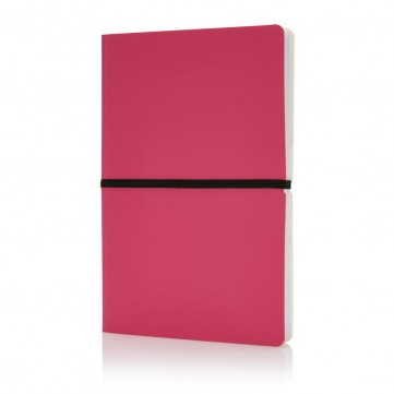 Deluxe softcover A5 notebook, pinkP773.020