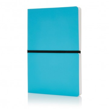 Deluxe softcover A5 notebook, blueP773.025