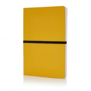 Deluxe softcover A5 notebook, yellowP773.026